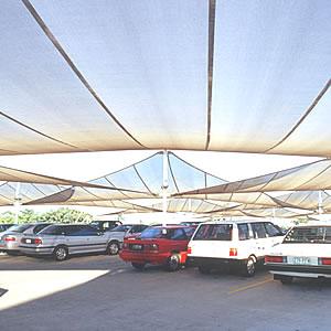 parking lot shades