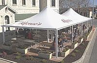 restaurant shade structures